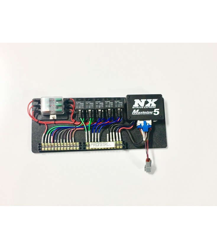 Nitrous Express Maximizer 5 Relay Panel on